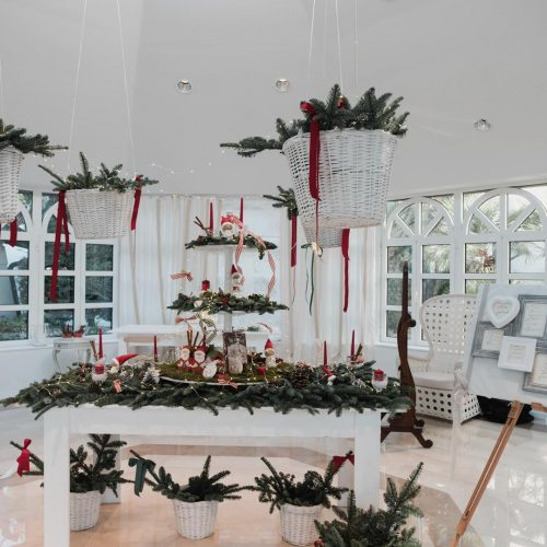 Gallery fotografica angolo natalizio