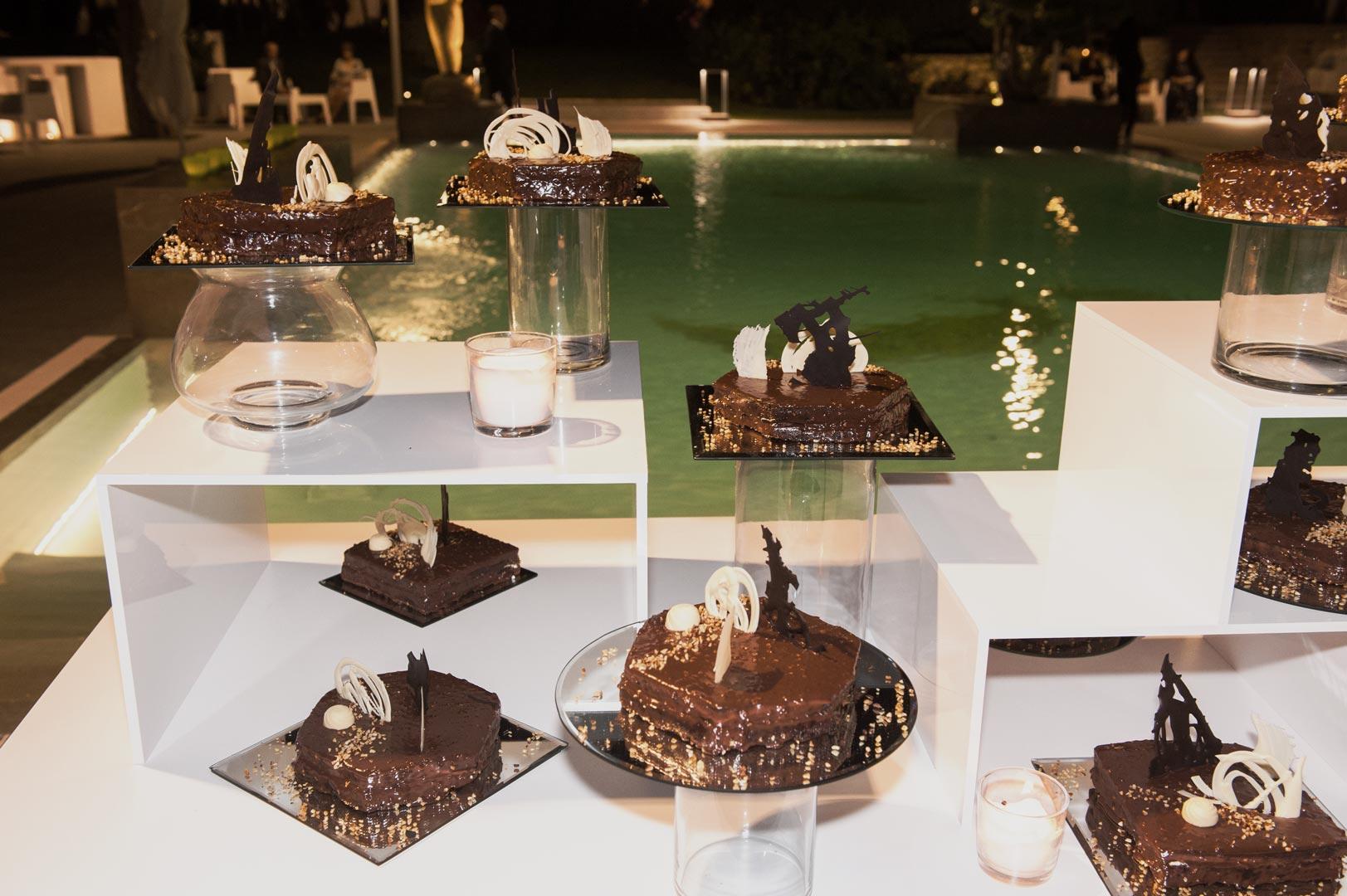 buffet dolci matrimonio cioccolata