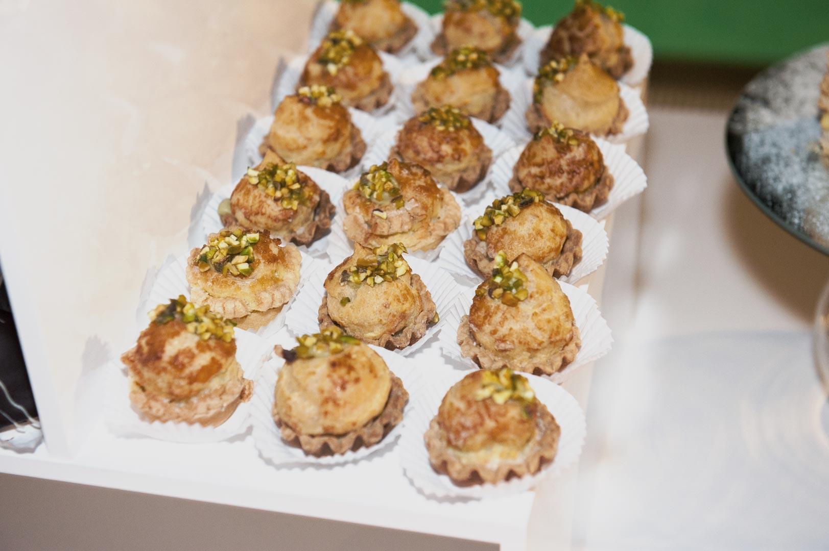 buffet dolci matrimonio pistacchio