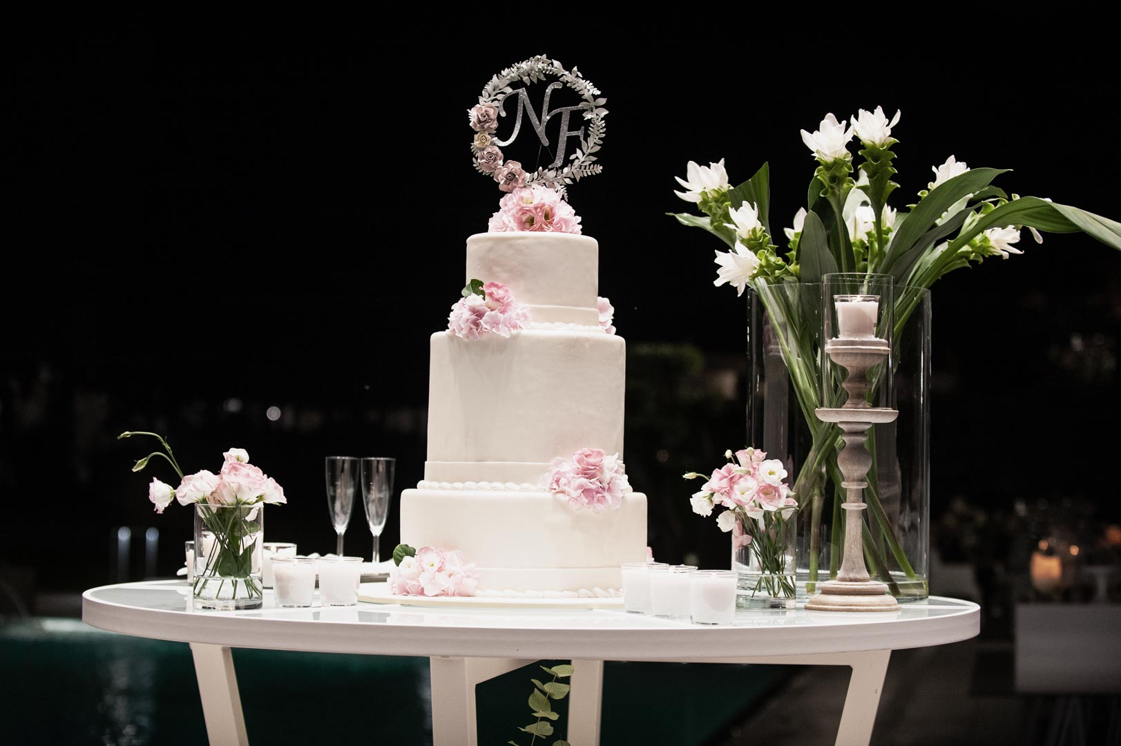 buffet dolci matrimonio torta nuziale